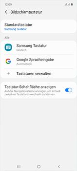 Samsung Galaxy A51 - Startanleitung - So fügen Sie eine Tastatursprache hinzu - Schritt 7
