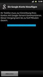 Sony Xperia S - Apps - Konto anlegen und einrichten - 9 / 21