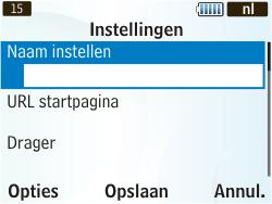Samsung S3350 Chat 335 - MMS - Handmatig instellen - Stap 8