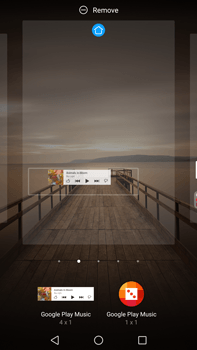 Huawei Mate 9 - Getting started - Installing widgets and applications on your start screen - Step 7