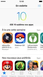 Apple iPhone SE - iOS 10 - iOS features - Supprimer et restaurer les applications iOS par défaut - Étape 7