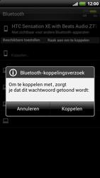 HTC Z715e Sensation XE - OS 4 ICS - Bluetooth - headset, carkit verbinding - Stap 8