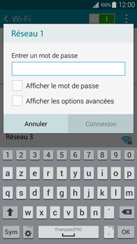 Samsung N910F Galaxy Note 4 - Wifi - configuration manuelle - Étape 6