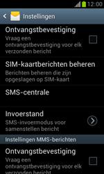 Samsung S7560 Galaxy Trend - SMS - Handmatig instellen - Stap 6