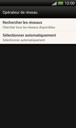 HTC One SV - Réseau - Sélection manuelle du réseau - Étape 6