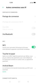 Oppo Reno 4 - Internet et connexion - Partager votre connexion en Wi-Fi - Étape 5