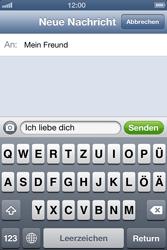 Apple iPhone 4 - MMS - Erstellen und senden - Schritt 10