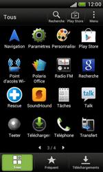 HTC T328e Desire X - Wifi - configuration manuelle - Étape 2