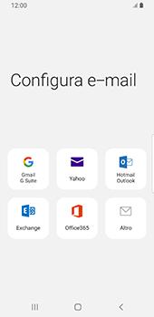 Samsung Galaxy S9 - Android Pie - E-mail - configurazione manuale - Fase 6