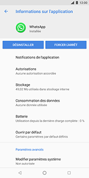 Nokia 7 Plus - Applications - Supprimer une application - Étape 7