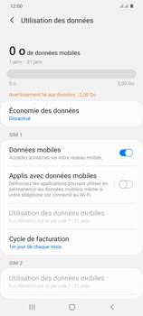 Samsung Galaxy S20+ - Internet et connexion - Désactiver la connexion Internet - Étape 6