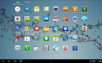 Samsung P5100 Galaxy Tab 2 10-1 - WiFi - Handmatig instellen - Stap 4