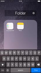 Apple iPhone 6 iOS 8 - Operazioni iniziali - Personalizzazione della schermata iniziale - Fase 7