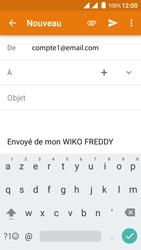 Wiko Freddy - E-mails - Envoyer un e-mail - Étape 5
