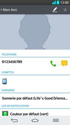 LG G2 - Contact, Appels, SMS/MMS - Ajouter un contact - Étape 8