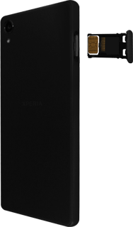 Sony Xperia X - SIM-Karte - Einlegen - 5 / 8