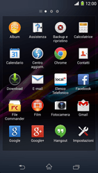 Sony Xperia Z1 - Software - Installazione degli aggiornamenti software - Fase 4