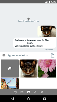 Nokia 6 (2018) - MMS - Afbeeldingen verzenden - Stap 17