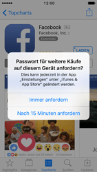 Apple iPhone SE - iOS 10 - Apps - Konto anlegen und einrichten - Schritt 26