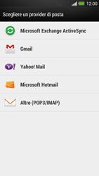 HTC One - E-mail - Configurazione manuale - Fase 5