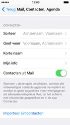 Apple iPhone 5c met iOS 9 (Model A1507) - Contacten en data - Contacten kopiëren van SIM naar toestel - Stap 6