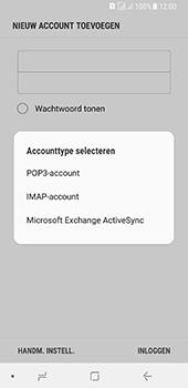 Samsung galaxy-a8-2018-sm-a530f-android-oreo - E-mail - Account instellen (IMAP zonder SMTP-verificatie) - Stap 9