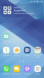 Samsung Galaxy A5 (2017) - Startanleitung - Installieren von Widgets und Apps auf der Startseite - Schritt 3