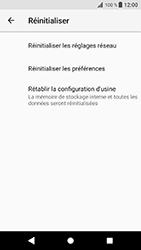 Sony Xperia XZ (F8331) - Android Oreo - Appareil - Réinitialisation de la configuration d