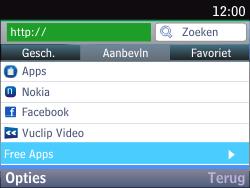 Nokia Asha 201 - Internet - Internetten - Stap 3