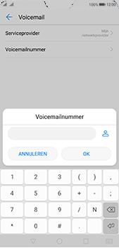 Huawei P20 Pro - Voicemail - Handmatig instellen - Stap 8