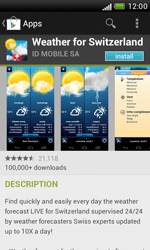 HTC Desire X - Applications - Installing applications - Step 14