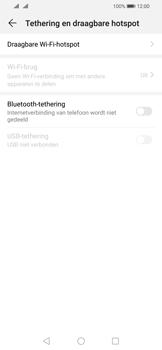 Huawei P Smart (2019) - Internet - mijn data verbinding delen - Stap 5
