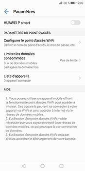 Huawei P Smart - Internet et connexion - Partager votre connexion en Wi-Fi - Étape 10