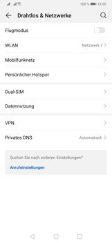 Huawei P30 - WiFi - WiFi Calling aktivieren - Schritt 5