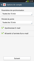 Samsung I9505 Galaxy S IV LTE - E-mail - Configuration manuelle - Étape 17