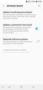 Samsung Galaxy A6 - software - update installeren zonder pc - stap 5