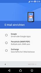 Sony Xperia XZ - E-Mail - Konto einrichten (gmail) - Schritt 8
