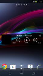 Sony Xperia Z1 Compact - Operazioni iniziali - Installazione di widget e applicazioni nella schermata iniziale - Fase 8