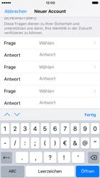 Apple iPhone 7 - Apps - Konto anlegen und einrichten - Schritt 13