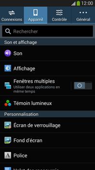 Samsung Galaxy Note 3 - Sécuriser votre mobile - Activer le code de verrouillage - Étape 5