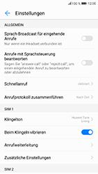 Huawei Honor 9 - Anrufe - Rufumleitungen setzen und löschen - Schritt 5