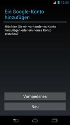 Motorola RAZR i - Apps - Konto anlegen und einrichten - 4 / 22