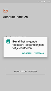 Samsung Galaxy J4 - E-mail - handmatig instellen (outlook) - Stap 5