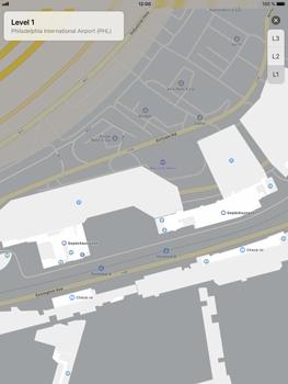 Apple iPad Air 2 - iOS 11 - Indoor-Karten (Einkaufszentren/Flughäfen) - 9 / 12