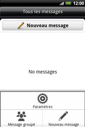HTC A510e Wildfire S - SMS - Configuration manuelle - Étape 5