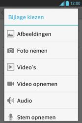 LG E610 Optimus L5 - E-mail - E-mails verzenden - Stap 10