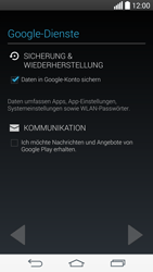 LG D722 G3 S - Apps - Konto anlegen und einrichten - Schritt 13