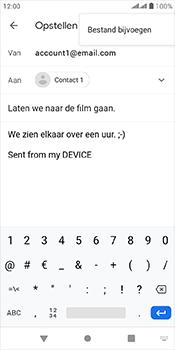 Alcatel 1-s-dual-sim-5024d - E-mail - Bericht met attachment versturen - Stap 10