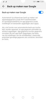 Huawei P30 Pro - Data - Maak een back-up met je account - Stap 7