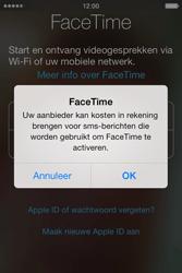 Apple iPhone 4S met iOS 5 (Model A1387) - Applicaties - FaceTime gebruiken - Stap 6